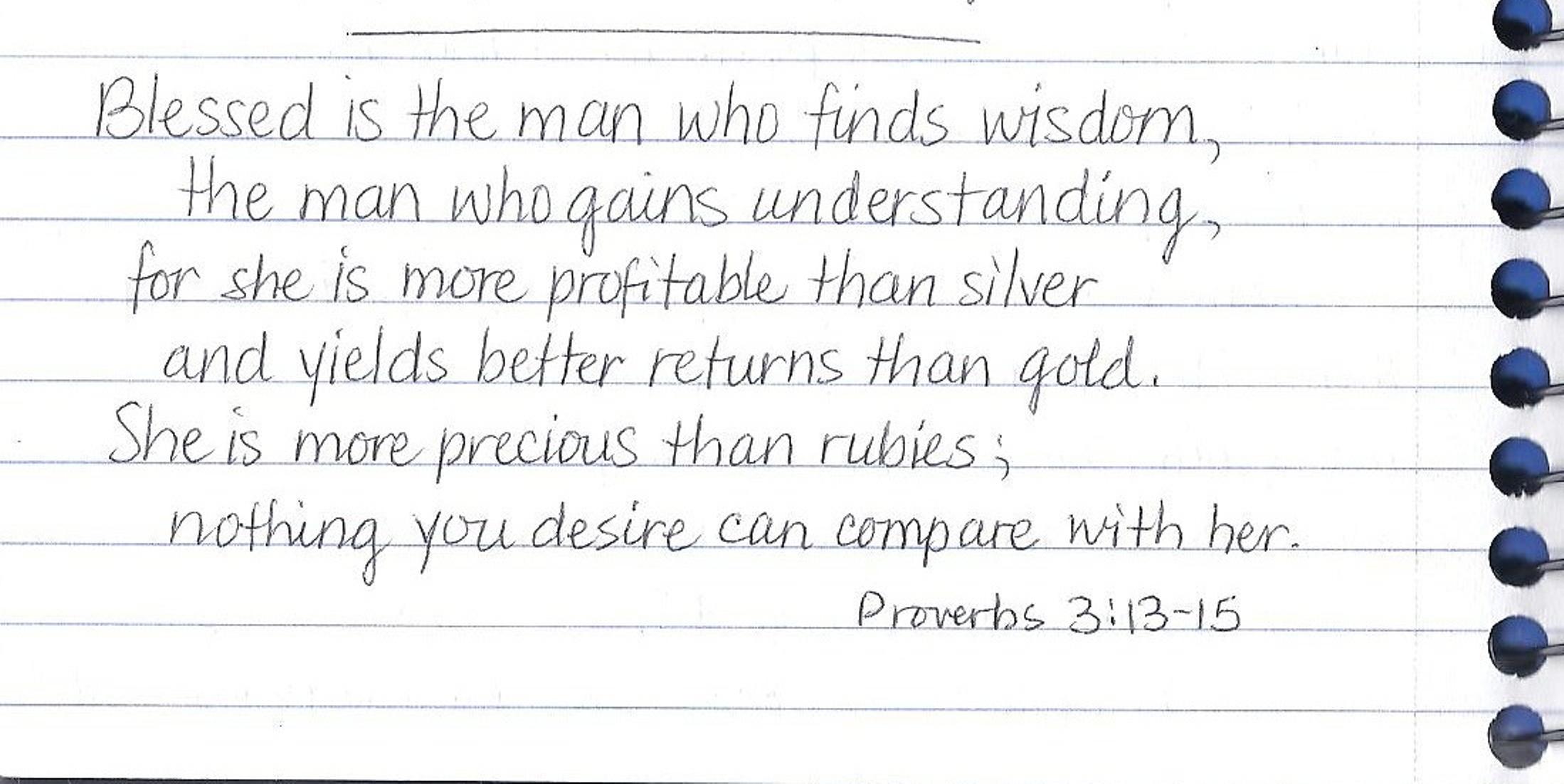 Blessed script