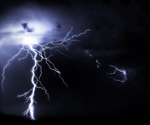 Kathy Sheldon Davis lightning