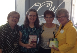 Marilyn Rhoads, Kathy Davis, Jane Kirkpatrick, Susie Ford