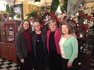 With my best critics Wanda Fisher, Marilyn Rhoads and Kathleen Ruckman at Indulge 2013