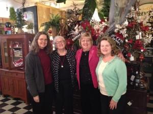With my best critics Wanda Fisher, Marilyn Rhoads and Kathleen Ruckman at Indulge 2013