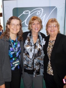 With author Deb Raney and OCW Program Director Marilyn Rhoads
