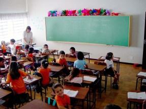 school classroom .minasi stockxchng