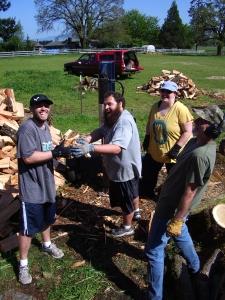 JD crew firewood 4-2015