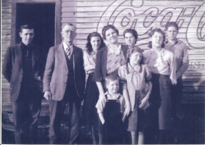 Chester Ina Sheldon family photo 1938