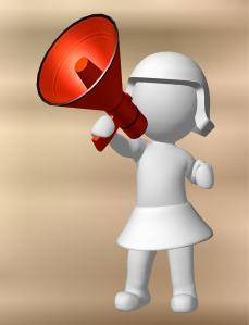 woman loud alexakrauze. free pixabay