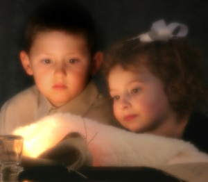 children at manger. karenanderson .freeimages.crop2