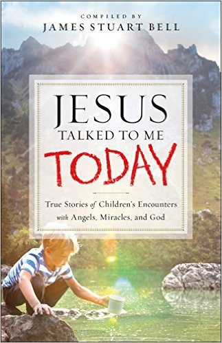 Jesus Talked to Me Today, book cover, Kathy Sheldon Davis, James Stuart Bell