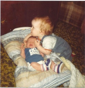 Aaron. Joshua. Imthelittle brother 5-1980