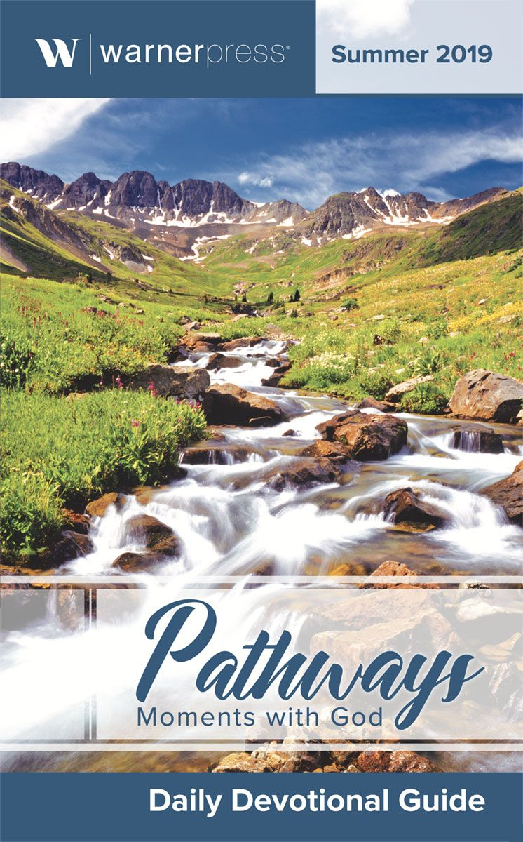 Pathways Moments with God Summer 2019 devotional and link to purchase a copy